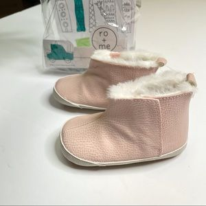 Ro + Me by Robeez Ryan Cozie Boot in Pink NEW